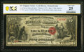 Lock Haven, PA - $5 Original Fr. 397a The Lock Haven National Bank Ch. # 1273 PCGS Banknote Very Fine 2
