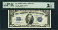 Small Size:Silver Certificates, Fr. 1703 $10 1934B Silver Certificate. PMG Choice Very Fine 35 EPQ.. ...