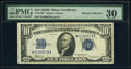 Small Size:Silver Certificates, Fr. 1703* $10 1934B Silver Certificate Star. PMG Very Fine 30.. ...