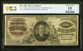 Large Size:Silver Certificates, Fr. 315 $20 1886 Silver Certificate PCGS Banknote Choice Fine 15 Details.. ...