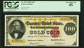 Fr. 1214 $100 1882 Gold Certificate PCGS Extremely Fine 45