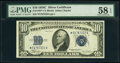 Small Size:Silver Certificates, Fr. 1704* $10 1934C Silver Certificate Star. PMG Choice About Unc 58 EPQ.. ...