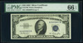Small Size:Silver Certificates, Fr. 1706 $10 1953 Silver Certificate. PMG Gem Uncirculated 66 EPQ.. ...