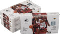 Basketball Cards:Unopened Packs/Display Boxes, 2003-04 SP Authentic Basketball Sealed Boxes Collection of Four - LeBron James Rookie Year! ...