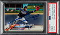Baseball Cards:Singles (1970-Now), Signed 2018 Topps Update Ronald Acuna Jr. #US252 PSA Mint 9, Auto 9....