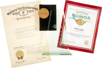 Trini Lopez Awards (2), Recognition Certificate, and Proclamation
