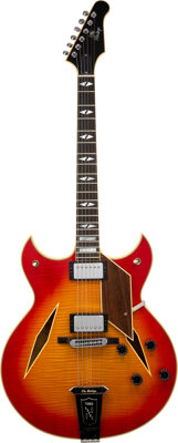 """Trini Lopez Owned and Played Custom Built """"The Heritage"""" Electric Guitar"""