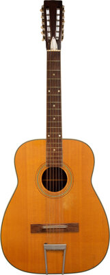Trini Lopez 12-String Acoustic Guitar Featured On The Latin Album Cover.... (Total: 2 Items)