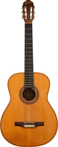 Musical Instruments:Acoustic Guitars, Trini Lopez Owned and Played Goya Classical Guitar.... (Total: 2 Items)