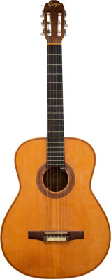 Trini Lopez Owned and Played Goya Classical Guitar.... (Total: 2 Items)