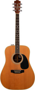 Musical Instruments:Acoustic Guitars, Trini Lopez Personally Owned and Played Takamine Acoustic Guitar....