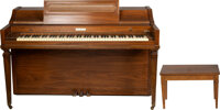 Trini Lopez Owned Baldwin Acrosonic Piano With Bench. ... (Total: 2 Items)