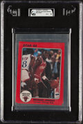 Basketball Cards:Unopened Packs/Display Boxes, 1985 Star Team Supers Chicago Bulls (5x7) In Original Sealed Bag GAI Mint 9....