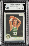 Basketball Cards:Unopened Packs/Display Boxes, 1985-86 Star Co. Boston Celtics (White Border) Team Set (8) In Original Sealed Bag - GAI Perfect 10!...