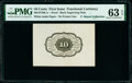 Milton 1P10R.1c 10¢ First Issue No Frameline PMG Choice Uncirculated 63 EPQ