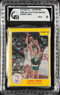 "Basketball Cards:Singles (1980-Now), 1986 Star Co. ""Court Kings"" Set (33) In Original Sealed Bag - Jordan, Bird, Johnson - GAI Mint 9!..."
