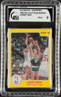 "Basketball Cards:Singles (1980-Now), 1986 Star Basketball ""Court Kings"" Bagged Set - GAI MINT 9!..."
