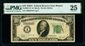 Small Size:Federal Reserve Notes, Fr. 2001-A* $10 1928A Federal Reserve Star Note. PMG Very Fine 25.. ...