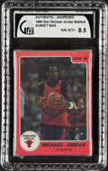 Basketball Cards:Singles (1980-Now), 1986 Star Basketball Michael Jordan Bagged Subset - GAI NM/MT+ 8.5!...