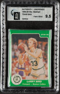 Basketball Cards:Unopened Packs/Display Boxes, 1984-85 Star Co. Boston Celtics Team Set In Original Sealed Bag GAI Gem Mint 9.5. ...