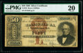 Large Size:Silver Certificates, Fr. 326 $50 1880 Silver Certificate PMG Very Fine 20.. ...