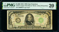 Small Size:Federal Reserve Notes, Fr. 2211-L* $1,000 1934 Mule Federal Reserve Star Note. PMG Very Fine 20.. ...