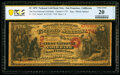 San Francisco, CA - $5 1870 Fr. 1136 The First National Gold Bank Ch. # 1741 PCGS Banknote Very Fine 20 Details