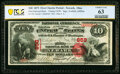 Newark, OH - $10 1875 Fr. 419 The First National Bank Ch. # 858 PCGS Banknote Choice Unc 63
