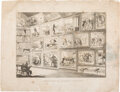 Political:Posters & Broadsides (pre-1896), [Andrew Jackson]: Montage Engraving of Anti-Jackson Cartoons. ...