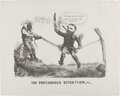 Political:Posters & Broadsides (pre-1896), [Horatio Seymour]: Racially-Charged Anti-Grant Cartoon....