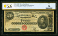 Large Size:Silver Certificates, Fr. 312 $20 1880 Silver Certificate PCGS Banknote Fine 12.. ...
