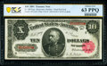 Large Size:Treasury Notes, Fr. 369 $10 1891 Treasury Note PCGS Banknote Choice Unc 63 PPQ.. ...