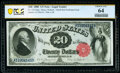 Large Size:Legal Tender Notes, Fr. 142 $20 1880 Legal Tender PCGS Banknote Choice Unc 64.. ...