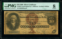 Fr. 286 $10 1880 Silver Certificate PMG Very Good 8