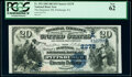 National Bank Notes:Pennsylvania, Pittsburgh, PA - $20 1882 Date Back Fr. 552 The Duquesne National Bank Ch. # (E)2278 PCGS New 62.. ...