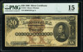 Large Size:Silver Certificates, Fr. 311 $20 1880 Silver Certificate PMG Choice Fine 15.. ...