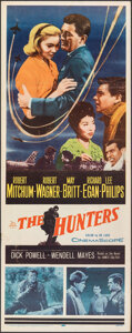 "Movie Posters:War, The Hunters & Other Lot (20th Century Fox, 1958). Folded, Very Fine-. Inserts (2) (14"" X 36""). War.. ... (Total: 2 Items)"