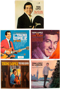 Trini Lopez Personally Owned Vinyl LPs (11)