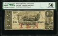Gloucester, MA- Gloucester Bank (2nd) $10 Nov. 1, 1862 G80b PMG About Uncirculated 50