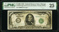Fr. 2210-G $1,000 1928 Federal Reserve Note. PMG Very Fine 25