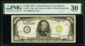 Fr. 2211-A $1,000 1934 Light Green Seal Federal Reserve Note. PMG Very Fine 30