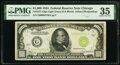 Small Size:Federal Reserve Notes, Fr. 2211-G $1,000 1934 Light Green Seal Federal Reserve Note. PMG Choice Very Fine 35.. ...