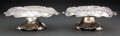 Silver & Vertu, A Pair of Gorham Mfg. Co. Martelé Silver Compotes: The Four Virtues and The Four Elements, P... (Total: 2 )