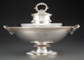 Silver & Vertu, A Tiffany & Co. Silver Covered Tureen, New York, circa 1860. Marks: TIFFANY & CO., 472, M, ENGLISH STERLING 925-1000, 5213...
