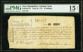Colonial Notes:New Hampshire, New Hampshire June 20, 1775 6s PMG Choice Fine 15 Net.. ...