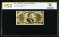 Fractional Currency:Third Issue, Fr. 1300 25¢ Third Issue PCGS Banknote Choice AU 58.. ...