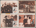 """Movie Posters:Crime, The Roaring Twenties & Other Lot (Warner Bros., R-1950s). Fine. Lobby Cards (4) (11"""" X 14""""). Crime.. ... (Total: 4 Items)"""
