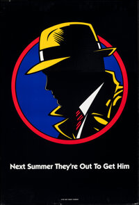 """Dick Tracy & Other Lot (Buena Vista, 1990). Rolled, Overall: Very Fine. One Sheets (3) (27"""" X 40"""") DS Adva..."""
