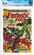 Silver Age (1956-1969):Superhero, Fantastic Four Annual #5 (Marvel, 1967) CGC NM+ 9.6 Off-white to white pages....