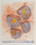 Works on Paper, Dale Chihuly (American, b. 1941). Soft Cylinder, 1994. Intaglio with colors. 29 x 23-1/2 inches (73.7 x 59.7 cm) (work)...